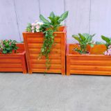 Decking Board Plant Pot Colorfast Weatherproof Outdoor Flower Boxes