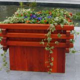 Flower Planter Box Outdoor Flower Boxes High Recyclable Light Weight